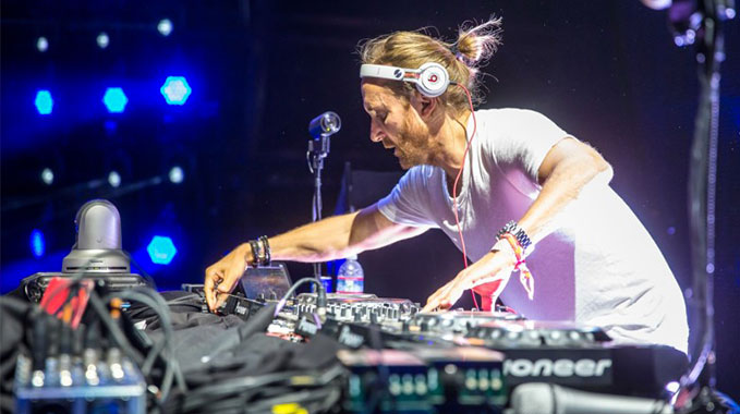 Photo of David Guetta en détresse à Coachella !