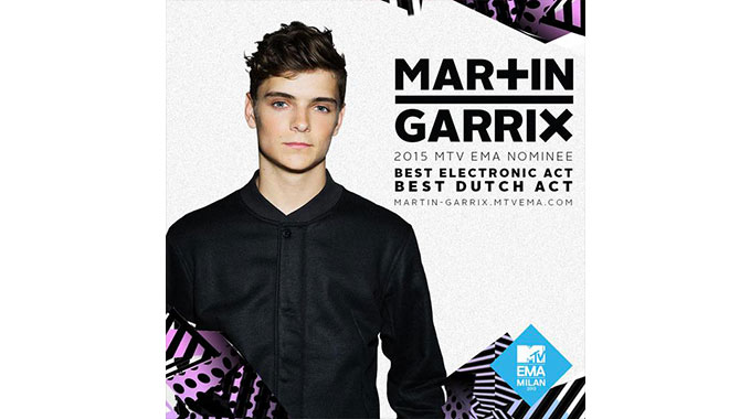 Photo of Martin Garrix nommé pour deux MTV Awards de prestige + Live Sziget Festival (2015)