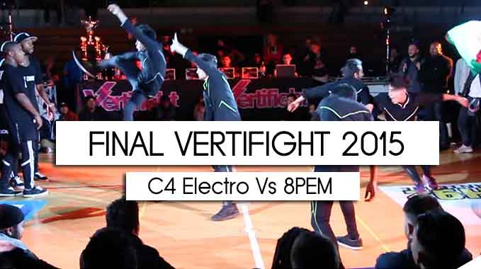 Photo of VERTIFIGHT WORLD 2015   FINAL   C4 ELECTRO (FRANCE) vs. 8PEM (MEXICO)
