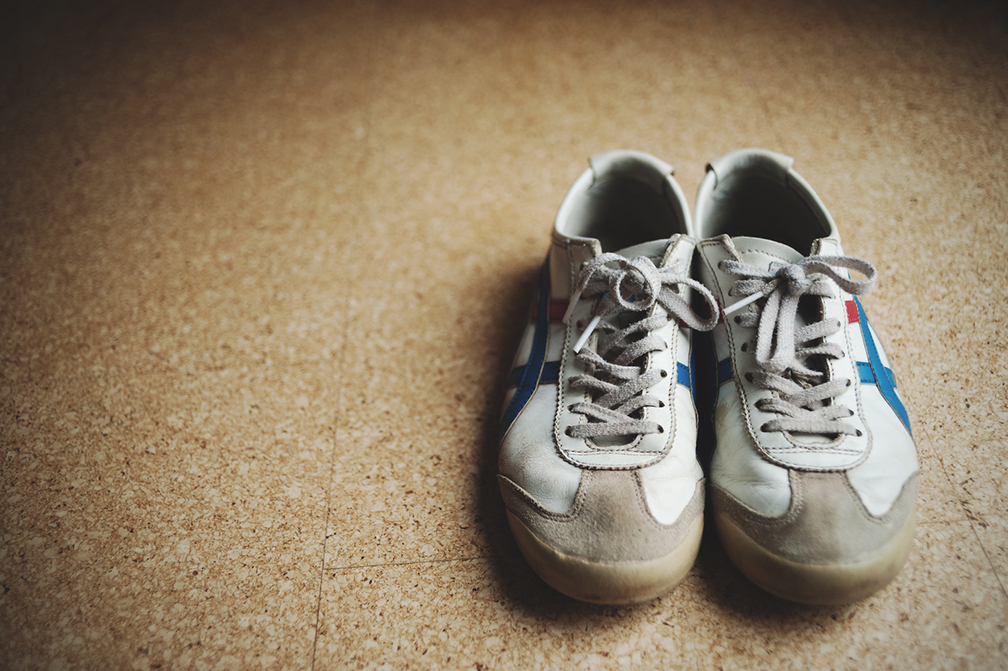 Photo of This is the most used pair of shoes by kids who play football on street