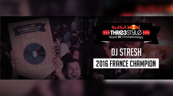 Photo of Finale Nationale de Red bull Thre3Style 2016 (Winner DJ Stresh)