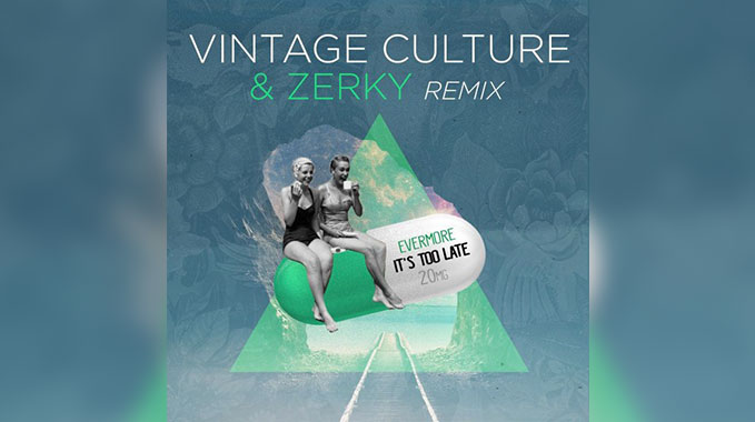 Photo of Evermore – It's Too Late (Vintage Culture & Zerky Rmx)
