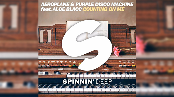 Photo of Aeroplane & Purple Disco Machine Feat Aloe Blacc – Counting On Me