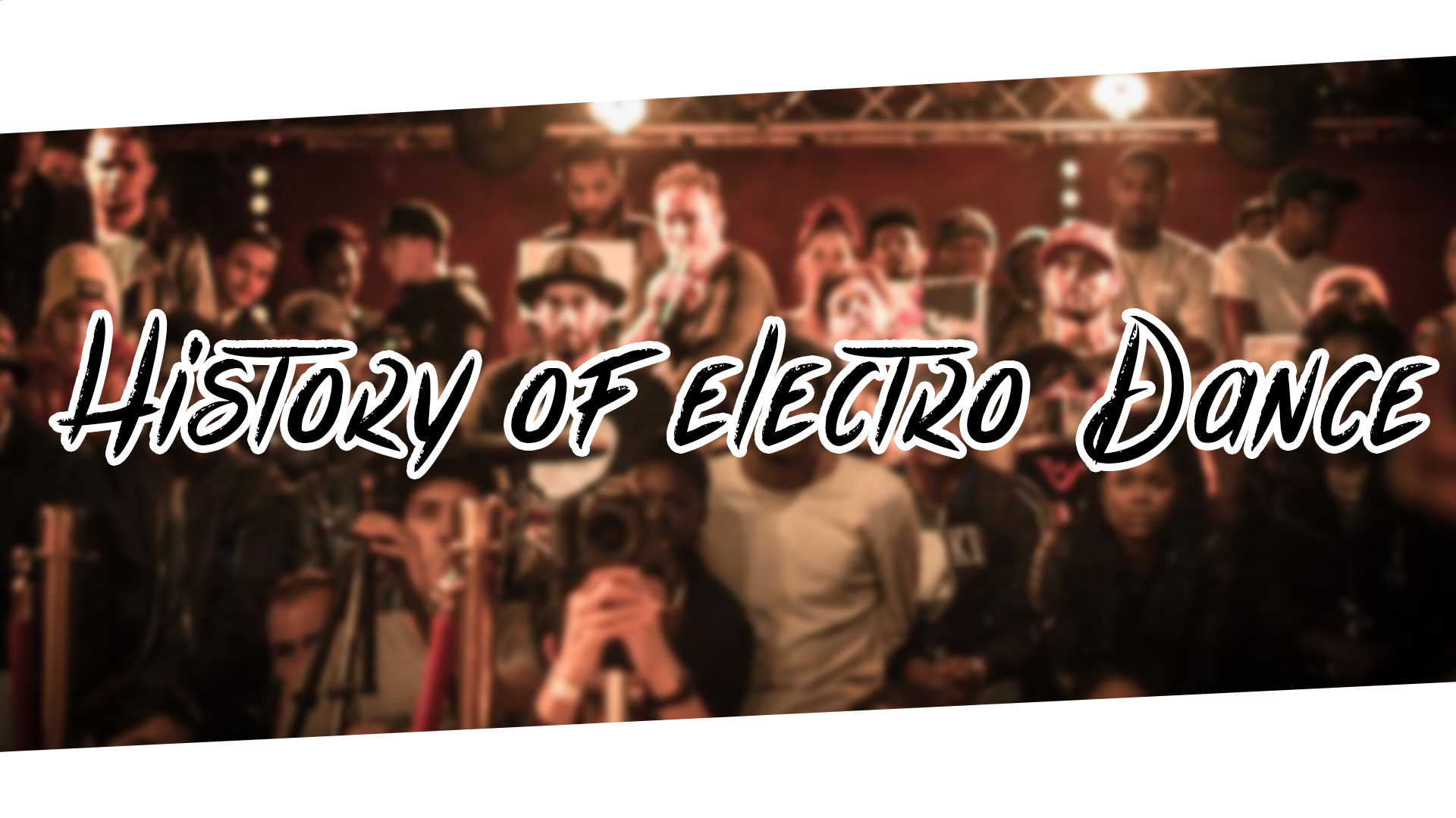 Photo of History Of Electro Dance