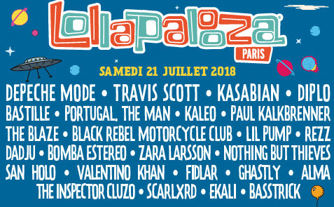 Photo of Lollapalooza Paris (2018)