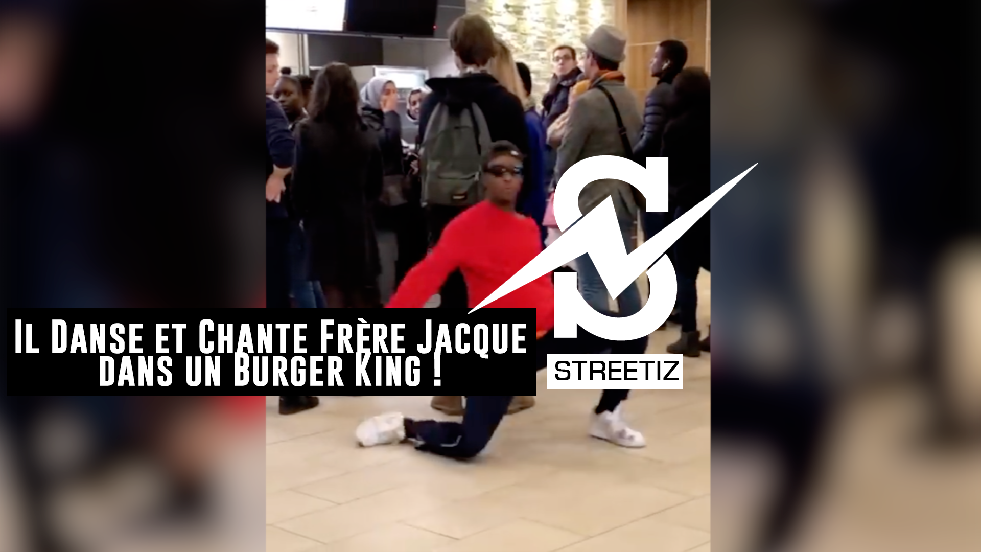Photo of Il Danse et Chante Frère Jacques dans un Burger King !
