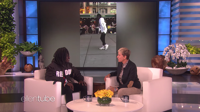 Photo of Viral Dancer Salif Gueye Wows Ellen with His Michael Jackson Moves