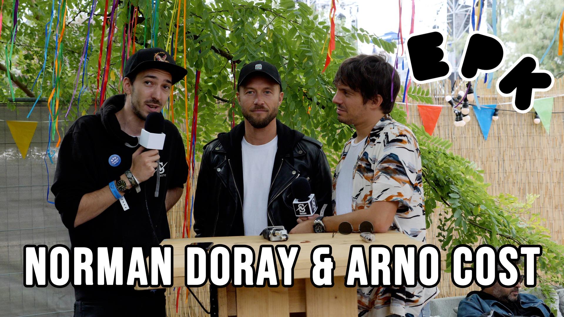 Photo of Arno Cost & Norman Doray @Elektric Park (Streetiz Interview)