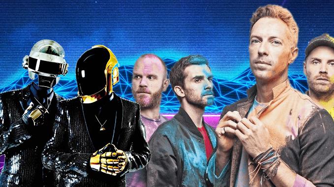 Photo of Une collaboration entre Coldplay et Daft Punk ?