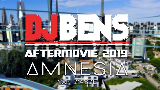Photo of DJ BENS @ AMNESIA 2019 – UN TOUR DANS LE FUTUR
